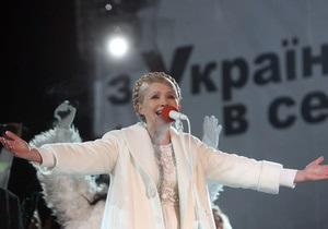 В БЮТ заявляют, что Янукович завидует фейерверкам Тимошенко на Майдане