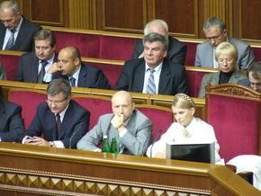 Партия регионов обещает не трогать Тимошенко до весны