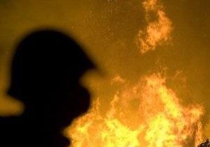 В Подольском районе Киева горел особняк