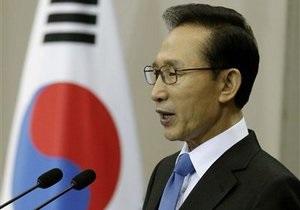Президент Южной Кореи пообещал дать жесткий ответ КНДР в случае нового нападения