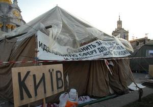 ВО Свобода считает безосновательным возбуждение дела за повреждение плитки на Майдане