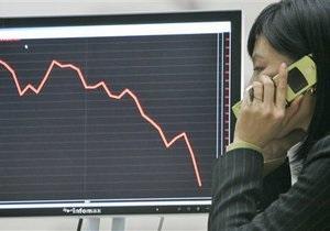 Украинский фондовый рынок завершил день падением индексов