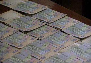В Тернопольской области сельский председатель попался на взятке 190 тысяч гривен