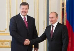 Пресса России: прохладная встреча Путина и Януковича