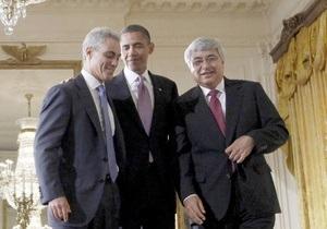 Обама определился с кандидатурой нового главы аппарата Белого дома