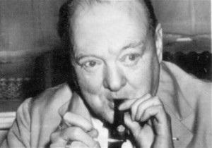 Черчилль - Самые пылкие военные речи Черчилль произносил в состоянии сильного опьянения - Daily Mail