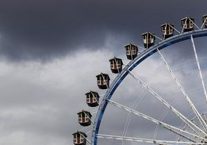 В киевском парке установят колесо обозрения