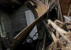 В Киеве из-за взрыва газа в частном доме пострадали два человека