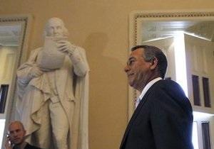 Новым спикером конгресса США стал республиканец