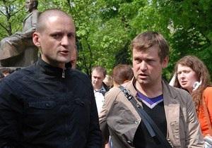 Вывезенного из Киева российского оппозиционера арестовали на два месяца