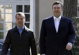 В апреле Медведев посетит Киев
