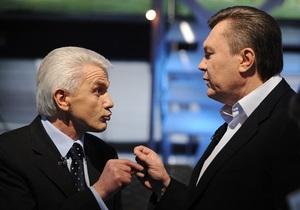 Янукович призвал Литвина организовать коалиционные переговоры