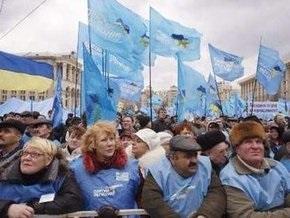 Партия регионов обещает вывести завтра на улицы Киева до 50 тысяч человек