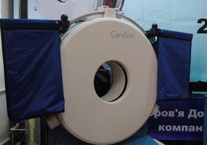 В Донецке появились первые мобильные томографы
