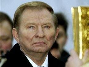 Кучма навестил могилу отца-фронтовика в России