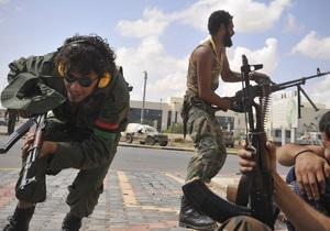 Повстанцы понесли значительные потери при штурме двух оплотов Каддафи