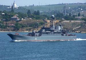 ЧФ РФ: Украинская сторона пыталась не пустить российский корабль через Керченский пролив