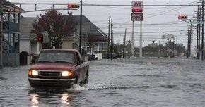 В южных районах Англии дожди вызвали наводнения