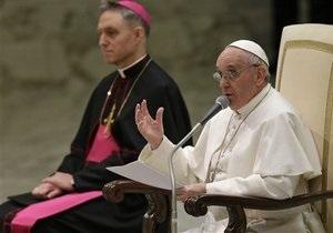 Новый Папа - Папа Франциск: Папа Римский объяснил, почему выбрал себе имя Франциск