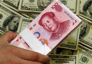 Китайский юань поставил очередной рекорд к американскому доллару