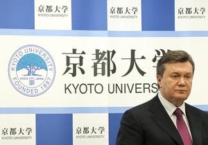 Янукович поблагодарил Японию за помощь в ликвидации последствий Чернобыльской катастрофы