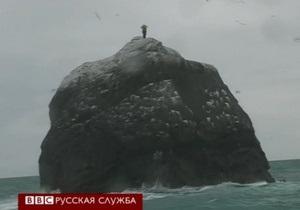 Британец хочет провести 60 дней на скале в Атлантике