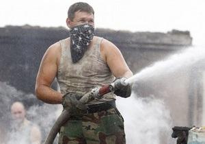 Площадь лесных пожаров в России превышает 120 тыс. га