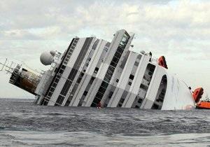 На затонувшем Costa Concordia обнаружили тело женщины. Число жертв возросло до 17