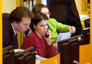 Украинский фондовый рынок открылся падением