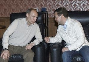 Путин: Мы с Медведевым спим по очереди