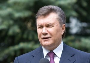 Янукович: Наша задача - вытянуть Украину из исторической ямы переходного периода