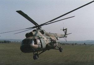 В Кировоградской области разбился вертолет МВД Украины. Пять человек погибли - авиактастрофа - вертолет