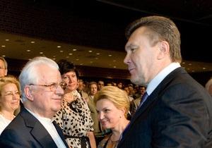 Кравчук написал открытое письмо Януковичу