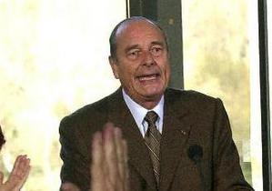 Из-за болезни экс-президент Франции Жак Ширак не сможет предстать перед судом