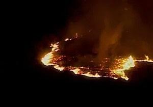 Крупный лесной пожар бушует возле Батуми. Власти готовятся к эвакуации жителей