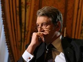 Ющенко считает, что в парламенте произошла криминализация