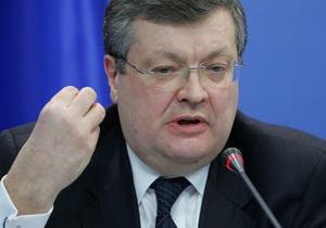 Грищенко: Украина и Турция должны выступить вместе с миссией объединения Востока и Запада