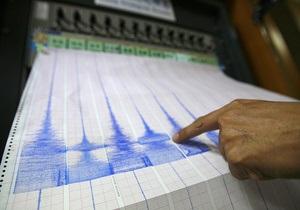 Недалеко от японского острова Хонсю произошло землетрясение