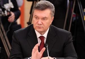 Янукович подписал закон, который должен создать благоприятные условия для малого бизнеса