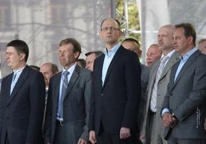 Оппозиция отказалась участвовать в Конституционной ассамблее Януковича