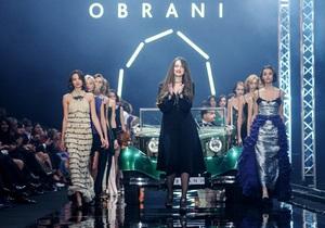 На вертолетной площадке Януковича прошел fashion-показ