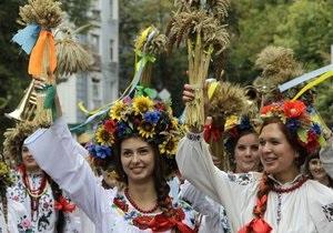 День Независимости - Украина - млн - празднование - Больше 1 млн человек участвовали в праздновании Дня Независимости Украины