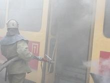 В Луганске сгорели четыре трамвая