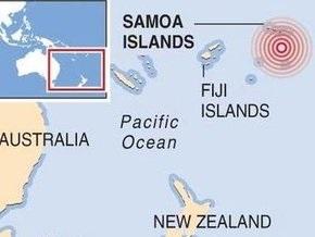 Цунами на островах Самоа в Тихом океане привело к гибели 19 человек
