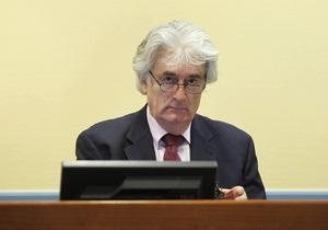 В Гааге возобновляется суд над Караджичем