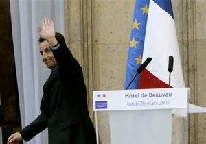 Большинство французов уверены, что Саркози проиграет следующие выборы