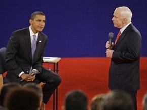 Опрос: Обама опережает Маккейна на два процента