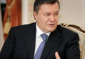 Янукович: Языковой закон возможно изменить, это не догма