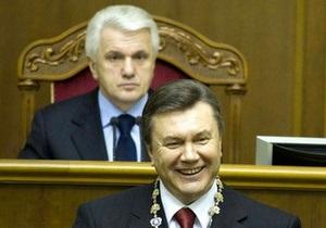 Литвин не стал оценивать вето Януковича на Налоговый кодекс