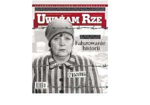 Известное польское издание изобразило Меркель в виде узницы концлагеря